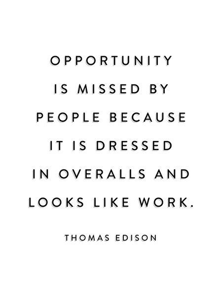 Quote by Thomas Edison